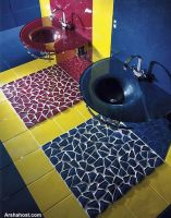 bathroom-flooring-glass-tiles-transparent-tiles-multi-color-tiles