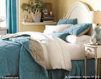 warm-beautiful-christmas-bedding-home-furnishings-bright-blue-design