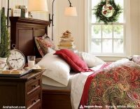 warm-beautiful-christmas-bedding-home-furnishings-printed-design