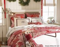 warm-beautiful-christmas-bedding-home-furnishings-red-christmas-color