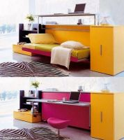 folding-study-table-converted-to-bed