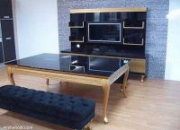 Double-function-dinner-table-furniture
