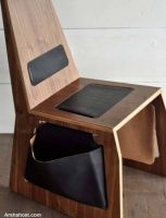 Horse-saddle-chair-pocket-view