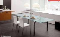 chic-lavish-dining-room-white-chair-glass-table