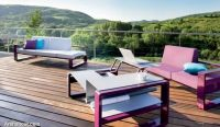outdoor-furniture-set-with-adjustable-coffee-table-garden-decor