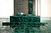 classy-green-ceramic-tiles-bathroom-bathtub