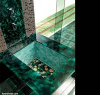 green-ceramic-tiles-bathroom-furniture