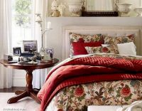 warm-beautiful-christmas-bedding-home-furnishings-flower-design