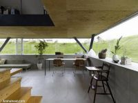 Pyramid-house-design-living-room