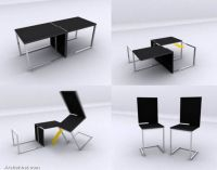 black-color-convertible-chair-table
