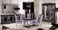 lavish-stylish-italian-dining-room-furniture-black-and-silver