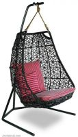 unique-hanging-swing-outdoor-garden-furniture-decor-black-frame-single-swing