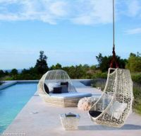 unique-hanging-swing-outdoor-garden-furniture-decor-white-frame-high-hanging