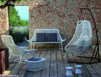 unique-hanging-swing-outdoor-garden-furniture-decor-white-frame