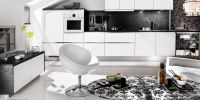minimalist-black-white-living-kitchen