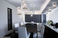 luxury-interior-dining-table-lights